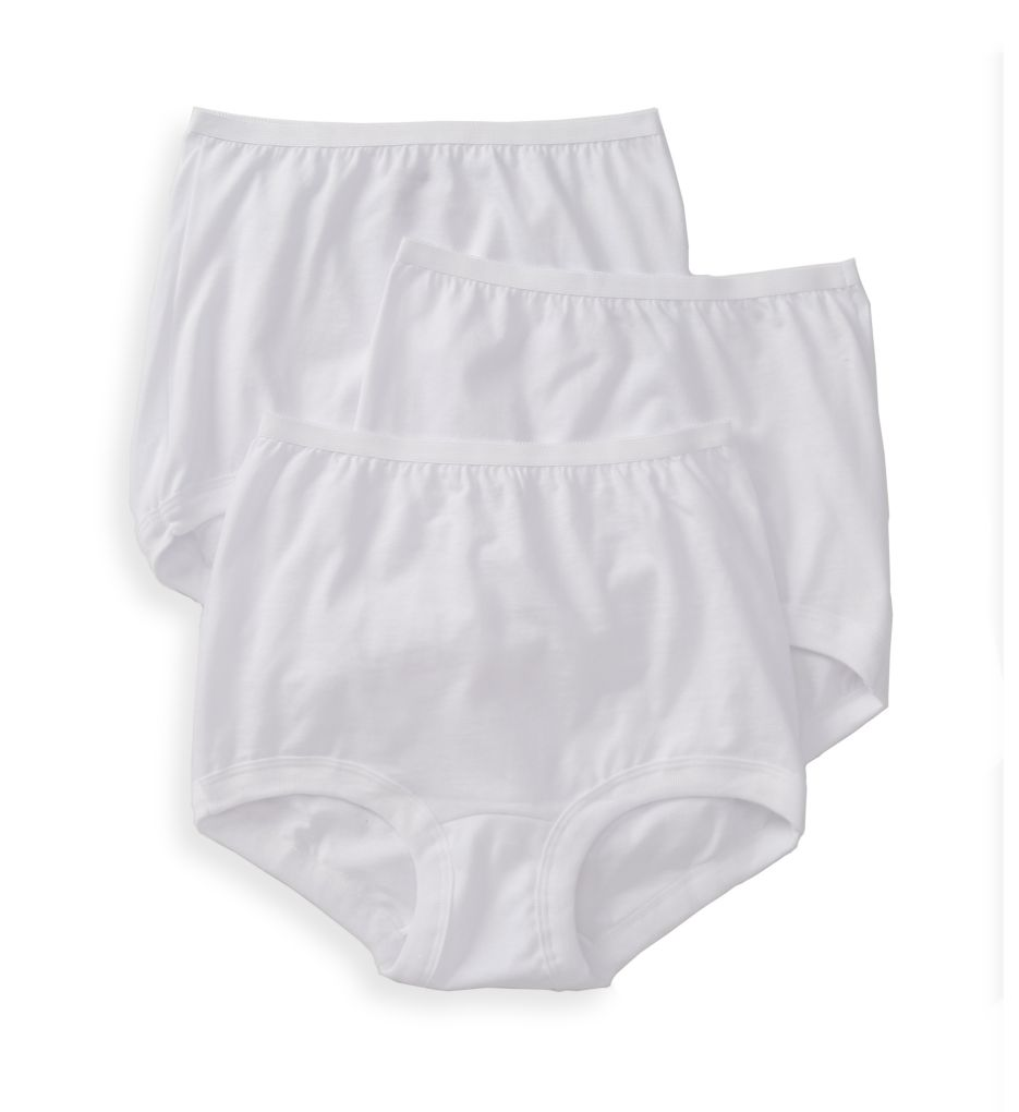 f92365626ee9 Vanity Fair - Women's Vanity Fair 15367 Lollipop Legband Brief Panties - 3  Pack - Walmart.com