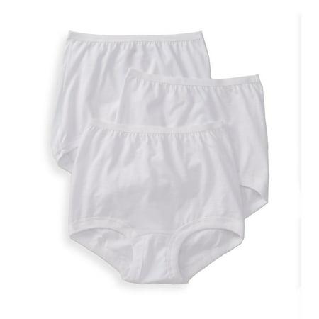 Women's Vanity Fair 15367 Lollipop Legband Brief Panties - 3 Pack ()