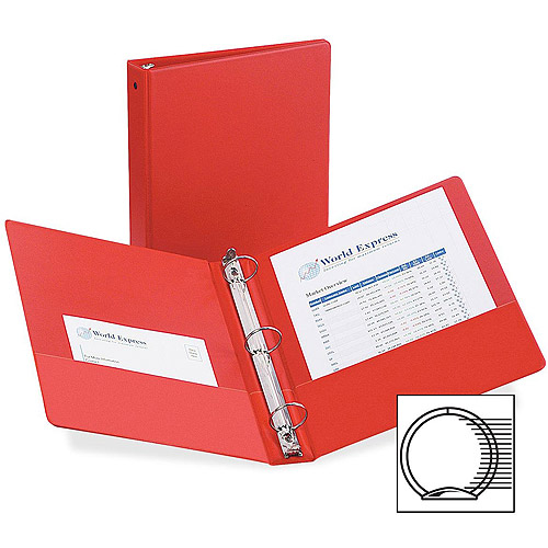 Avery Economy Round Ring Binders