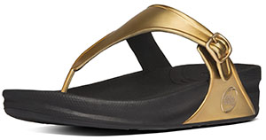fitflop superjelly metallic water gold sandals - gold water mirror 1fb25e
