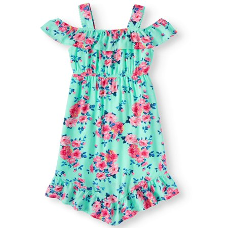 Cold Shoulder Dress (Little Girls, Big Girls & Big Girls - Out Dress Girl