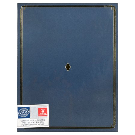 gartner studios blue paper award certificate holders pack of 6