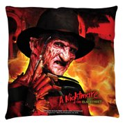 Nightmare On Elm Street Freddy'S Boiler Room Throw Pillow White 20X20