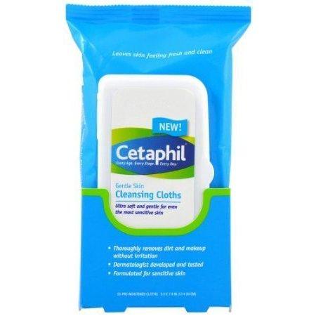Cetaphil Gentle Skin Cleansing Cloths, 25 ct - image 1 of 1
