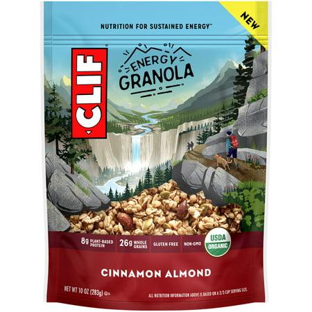 (Clif® Cinnamon Almond Energy Granola 10 oz. Bag)
