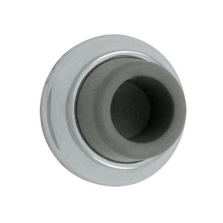 1.87 in. Diameter Flush Bumper, Bright Chrome - Solid