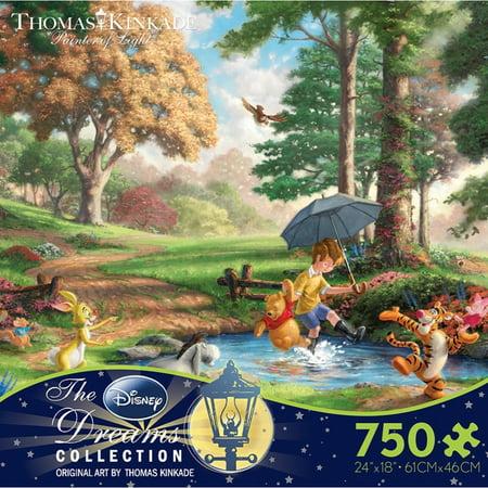 Thomas Kinkade Disney Dreams Winnie the Pooh I, 750pc - Disney Puzzle