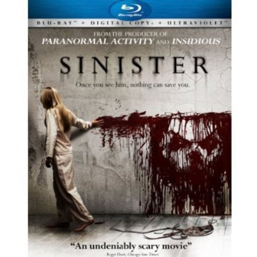 Sinister (Blu-ray + UltraViolet) (With INSTAWATCH) (Anamorphic Widescreen)