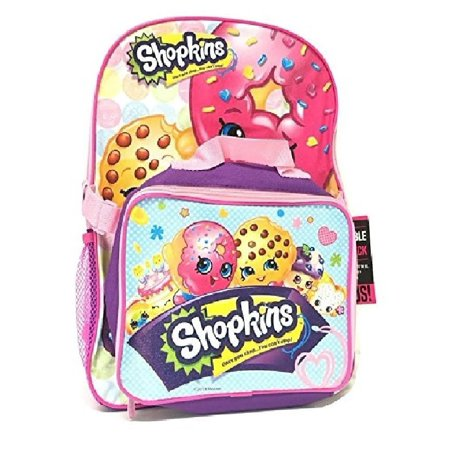 Kins School Backpack Set 16 Large With Matching Lunch Bag Purple W20