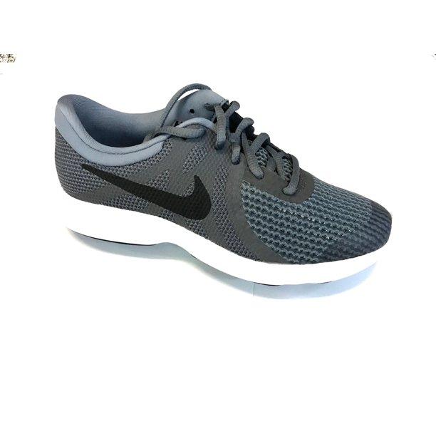 Nike 943309-005: Boys Revolution 4 (GS) Grey Running Sneakers (6 M US Big Kid)