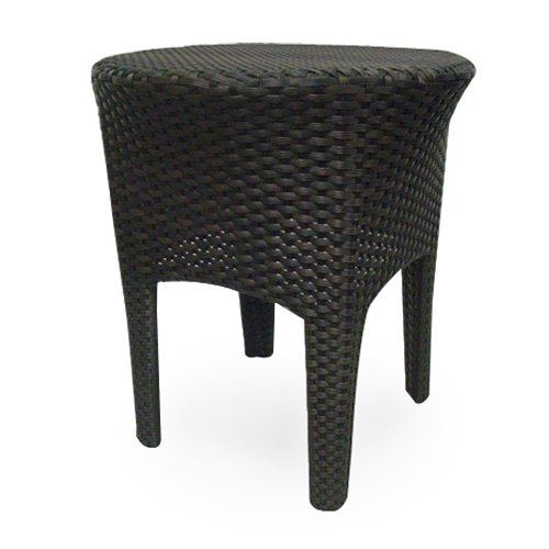 Source Outdoor St. Tropez All-Weather Wicker Side Table