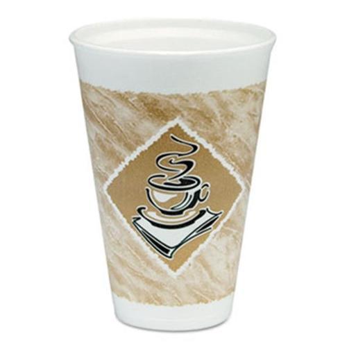 Drc 16X16GPK CUP,16OZ,FOAM,CAFE G,25PK