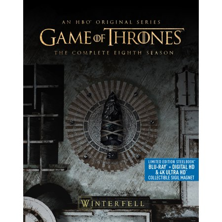 Game Of Thrones: Season 8 [STEELBOOK] (4K Ultra HD + Blu-ray + Digital