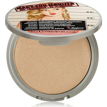 Thebalm Mary-Lou Manizer Highlighter, Shadow & Shimmer, 0.30 (Best Face Highlighter 2019)