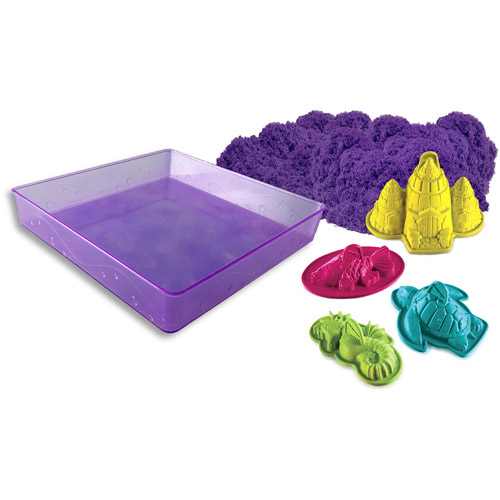"Kinetic Sand Sandbox and Molds ""Color May Vary"" Item"