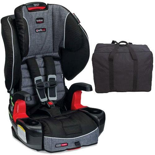 Britax - Frontier G1 1 ClickTight Harness-2-Booster Car Seat with Travel Bag Bundle - Vibe