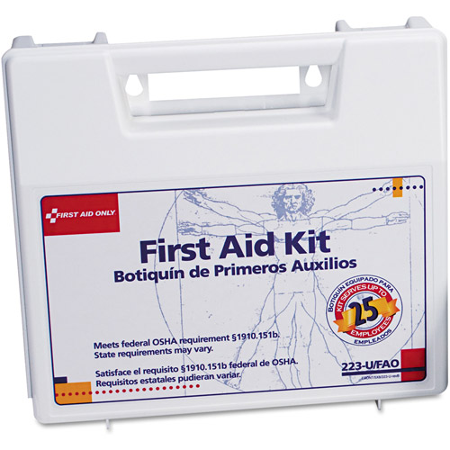 First Aid Only First Aid Kit for 25 People, 106 pc
