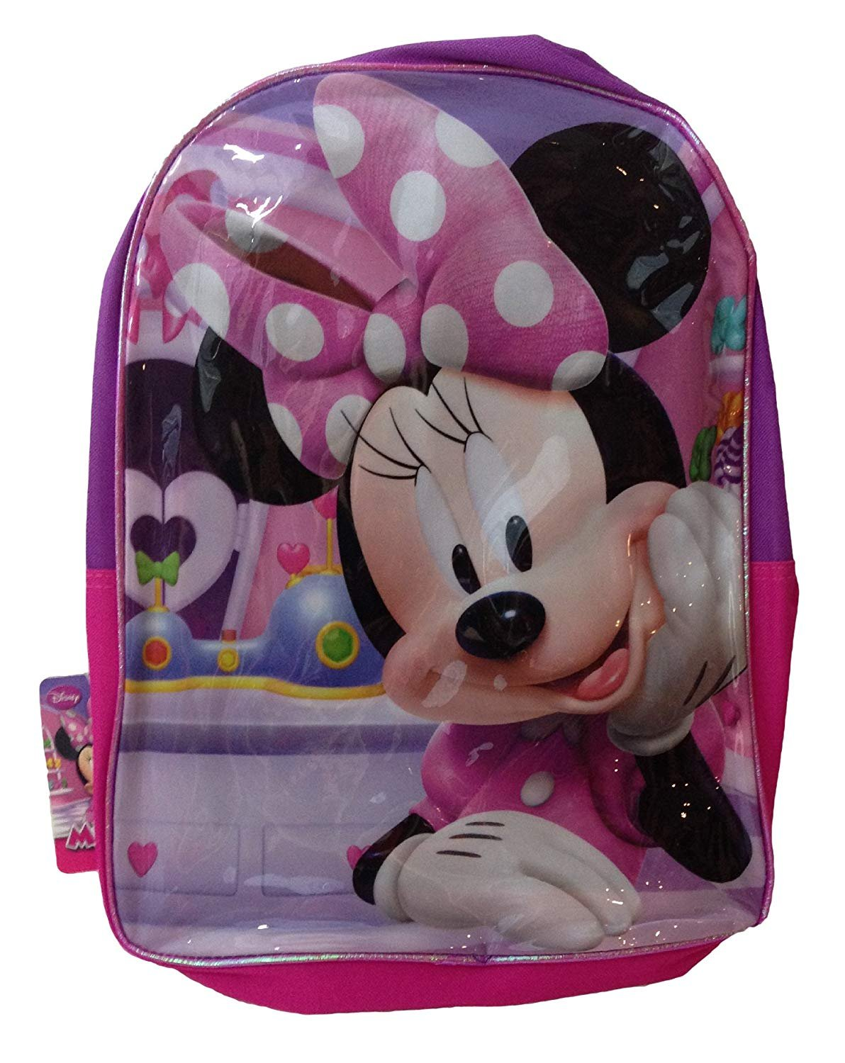 "Minnie Mouse Big Bow 16"" Backpack"