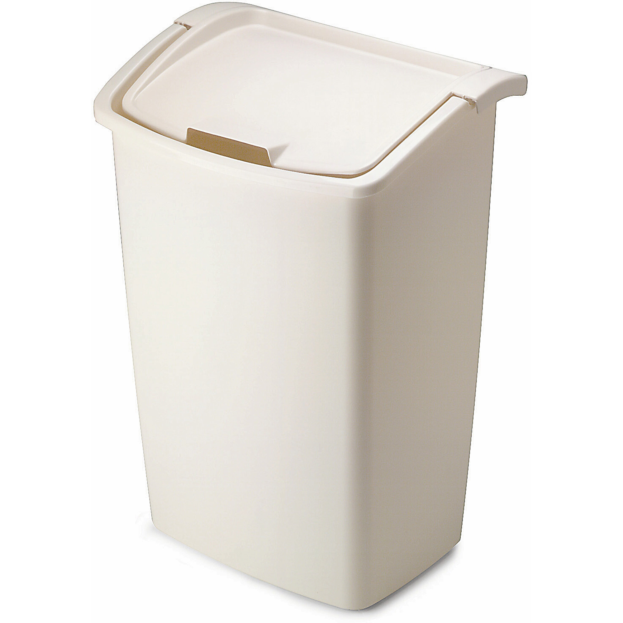 Rubbermaid 11 25 Gallon Dual Action Wastebasket. Rubbermaid Trash Cans