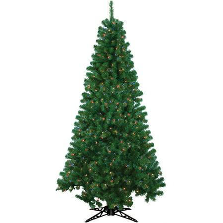 Pre Lit 6 5 Rockport Artificial Christmas Tree 300 Multi