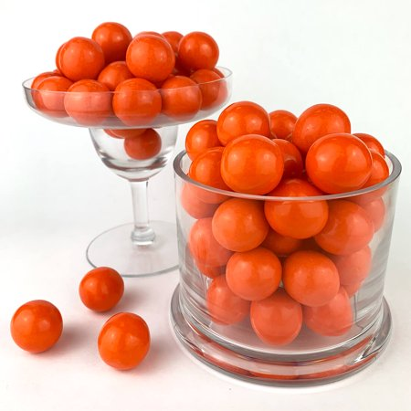 Candy Buffet Favors (Color It Candy Orange Gumballs 2 lb, Party Favors, Buffets,)
