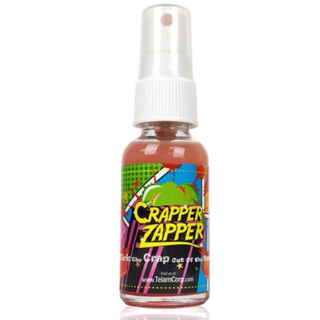 Crapper Zapper Bathroom Odor Spray Fresh Scent Oz Spritz Bottle - Bathroom odor spray