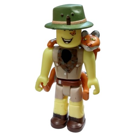 Roblox Series 4 - Roblox Red Series 4 Design It Safari Mini Figure With Red Cube And Online Code No Packaging