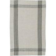 Black Linen Towel