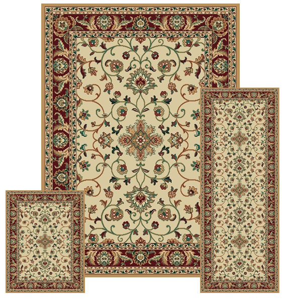 United Weavers Brunswick Elvira Woven Olefin Scatter Rug