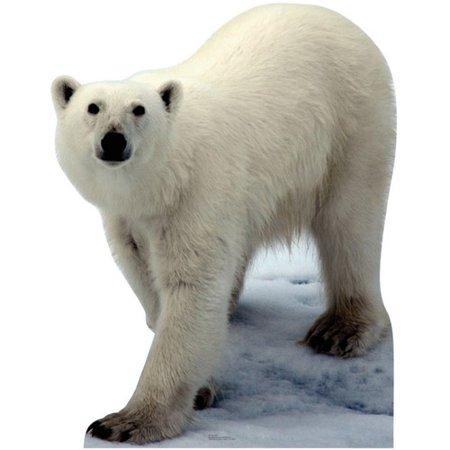 Advanced Graphics Animals Polar Bear Cardboard Stand-Up](Cardboard Animals)