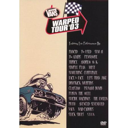 Touring Van - VANS WARPED TOUR '03 / DVD