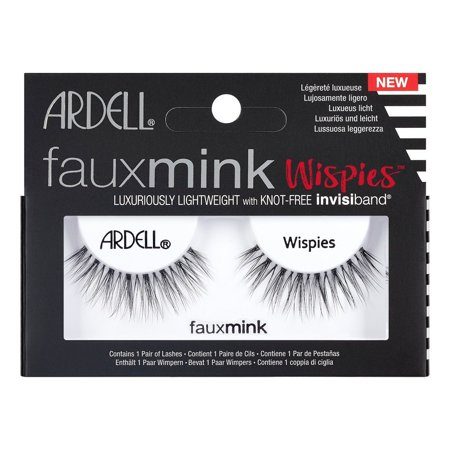 Ardell Eyelash Wispies Faux Mink Black - 1pr