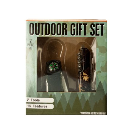 (pack 2) Outdoor Multi-Function Tool Gift Set by bulk buys thumbnail