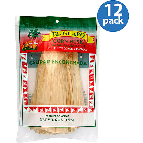 El Guapo Corn Husks, 6 oz, (Pack of 12)