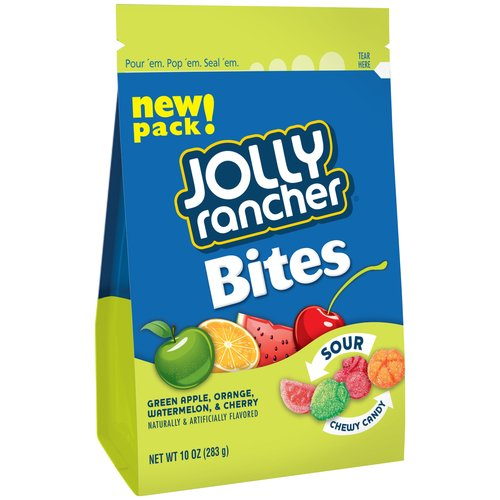 Jolly Rancher Bites Sour Candy, 10 oz