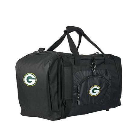 """Rtl Bag - NFL Green Bay Packers """"Roadblock"""" 20""""L x 11.5""""W x 13""""H Duffel Bag"""