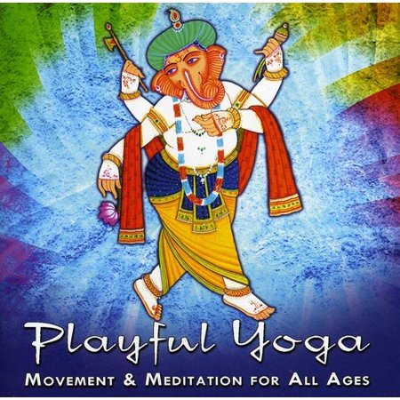 Playful Yoga: Movement & Meditation For All Ages (CD) - Halloween Music And Movement For Toddlers