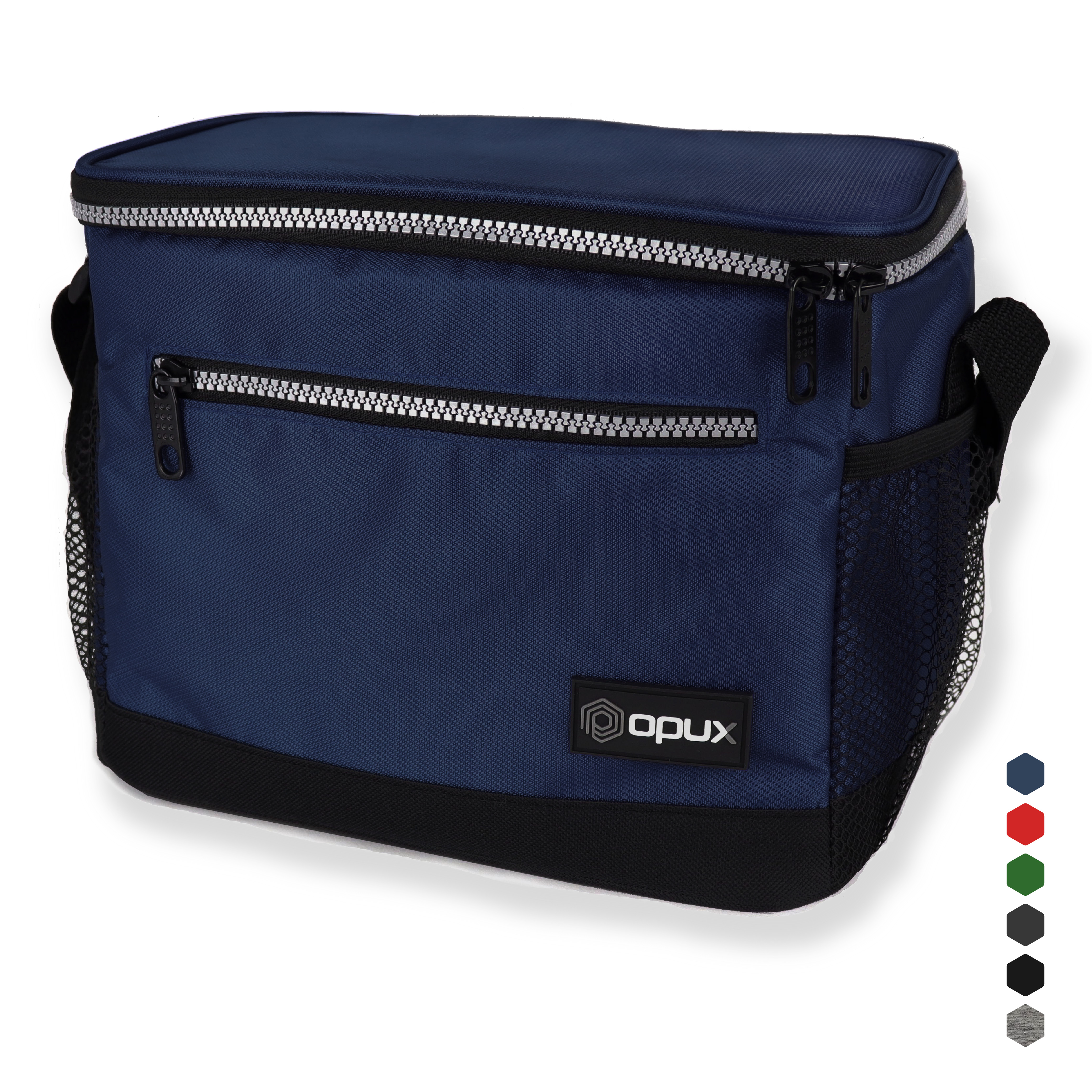 Premium Insulated Cooling Lunch Bag For Work by OPUX - Navy