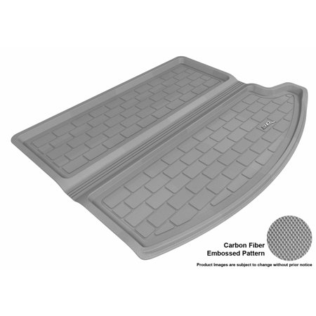 Ford Bronco Cargo Liner - 3D MAXpider 2013-2016 Ford Escape All Weather Cargo Liner in Gray with Carbon Fiber Look