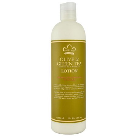 Nubian Heritage Olive - Nubian Heritage Lotion - Olive Butter with Green Tea - 13 Fluid Ounce