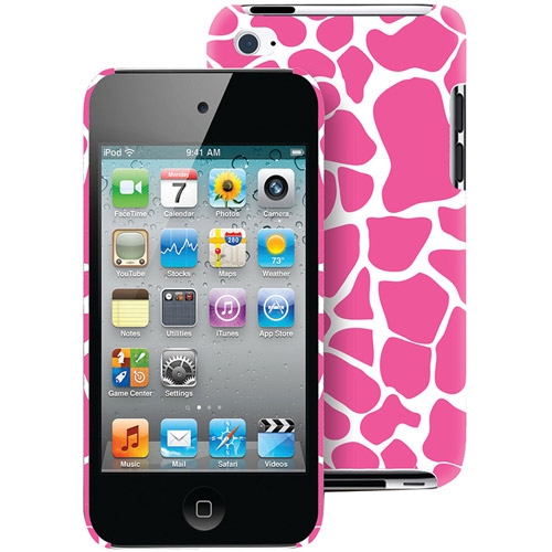 THE MACBETH COLLECTION MB-T5CPG iPod touch(R) 4G Case (Pink Giraffe)