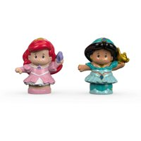 Disney Princess Ariel & Jasmine By Little People