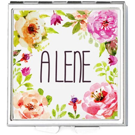 Square spring flowers personalized with name pill box walmart square spring flowers personalized with name pill box mightylinksfo