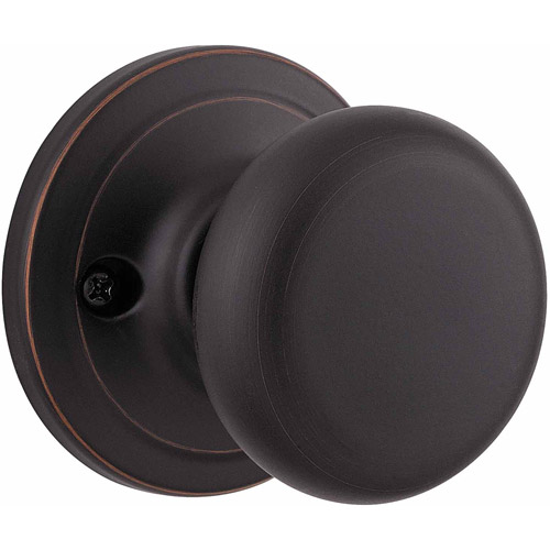 Kwikset Venetian Bronze Surface Mounted Juno Half-Dummy Trim Knob