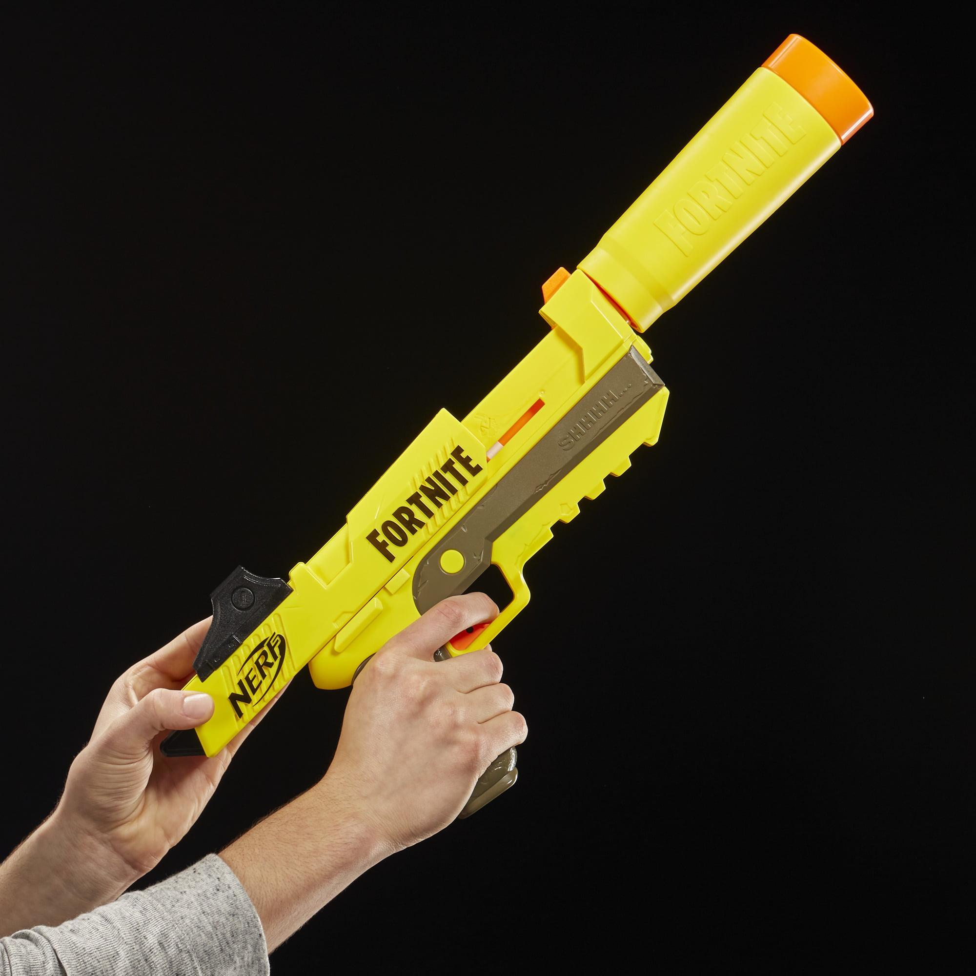 Fortnite SP-L Nerf Elite Dart Blaster with Detachable Barrel