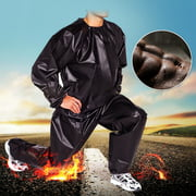 100% PVC Heavy Duty Unisex Fitness Loss Weight Sweat Suit Sauna Yoga Stretch Workout Suit Exercise Gym Sports