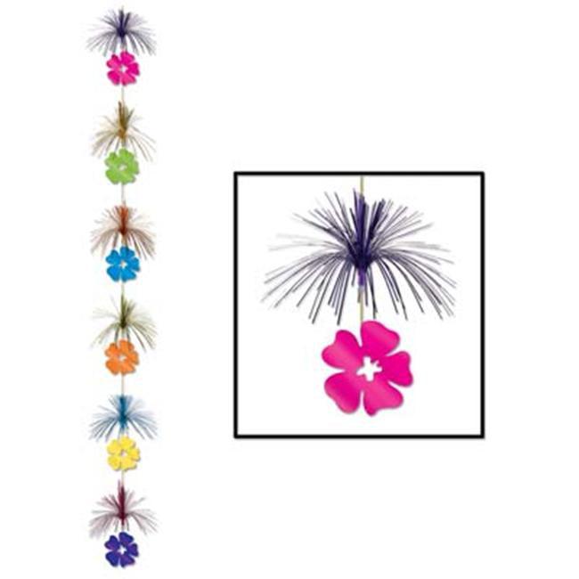 Beistle 57631 Hibiscus Firework Stringer - Pack of 12