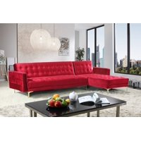 Red Sectional Sofas & Couches - Walmart.com