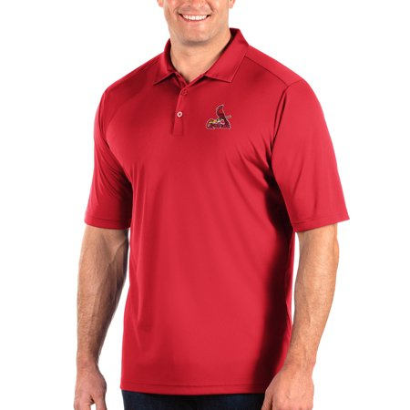 St. Louis Cardinals Antigua Big & Tall Tribute Polo - Red