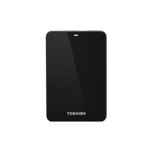 Toshiba Canvio Connect 1 TB External Hard Drive - Portable - 1 Pack - Black